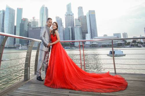 wedding gown rental services in singapore