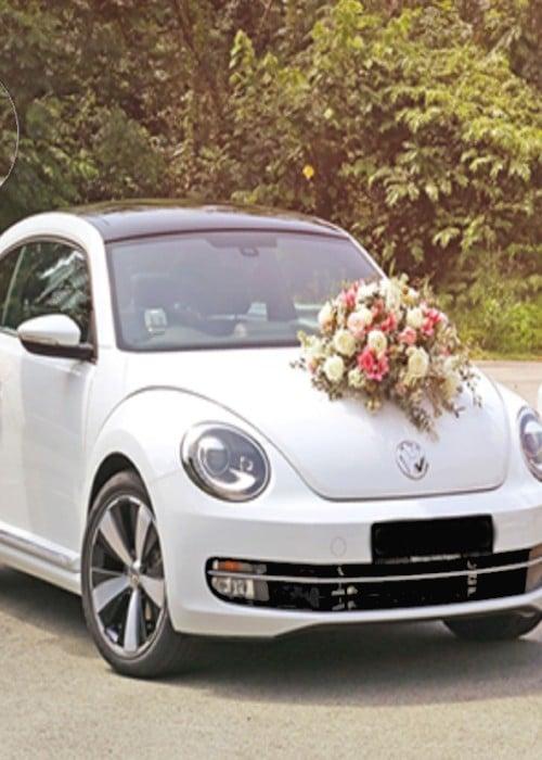 volkswagen beatle wedding car rental in singapore