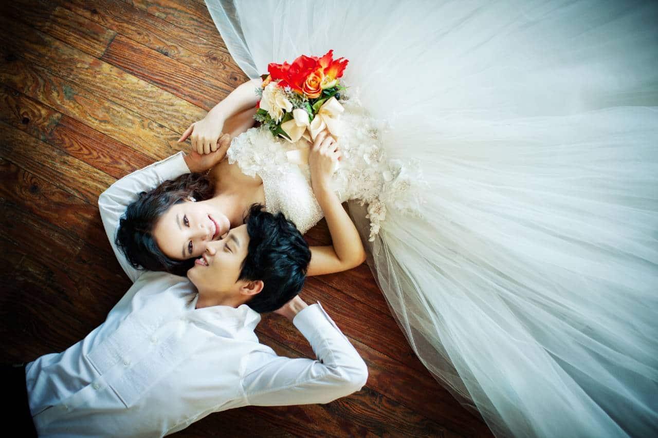 bridal studio photo shoot singapore